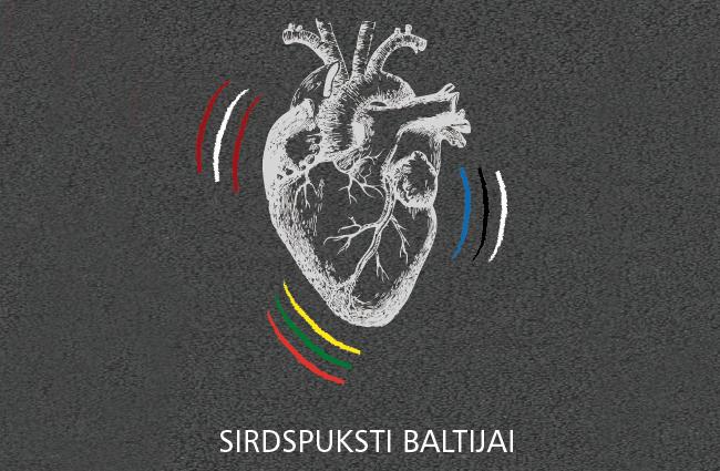 """Deep White rīko Baltijas vienotības skrējienu """"Sirdspuksti Baltijai"""""""
