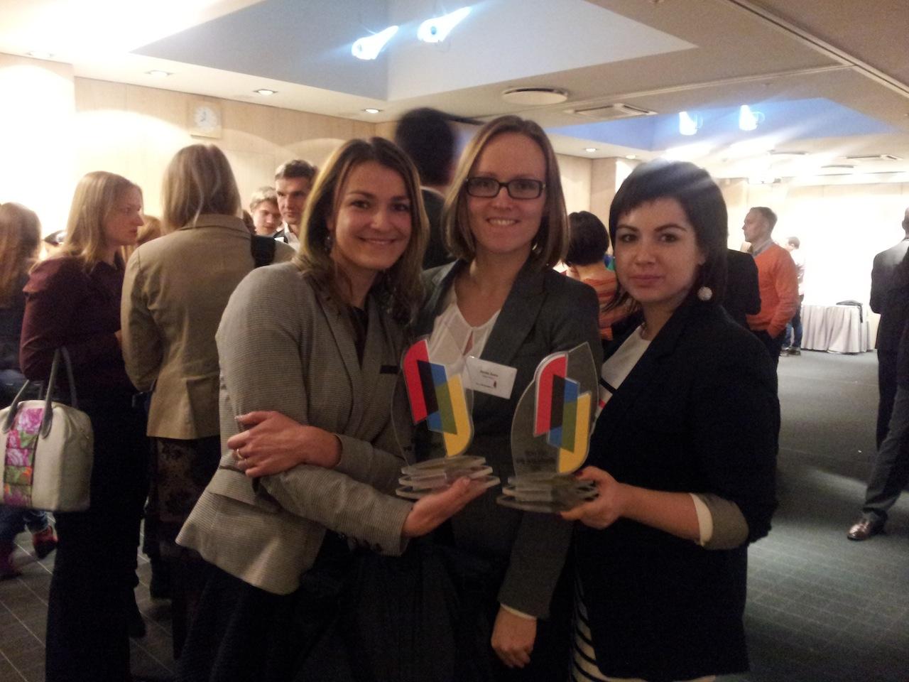Три кампании Deep White получают главные награды Baltic PR Awards 2012