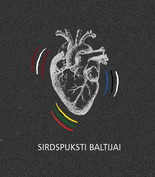 Deep White organizes Baltic Unity relay Heartbeats for the Baltics