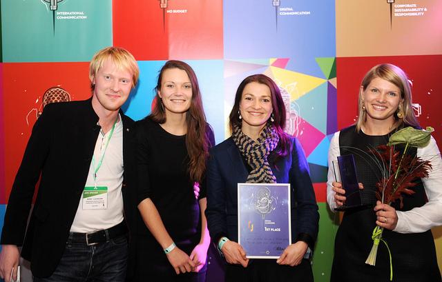 Divām Deep White kampaņām piešķirti konkursa Baltic PR Awards 2014 augstākie apbalvojumi