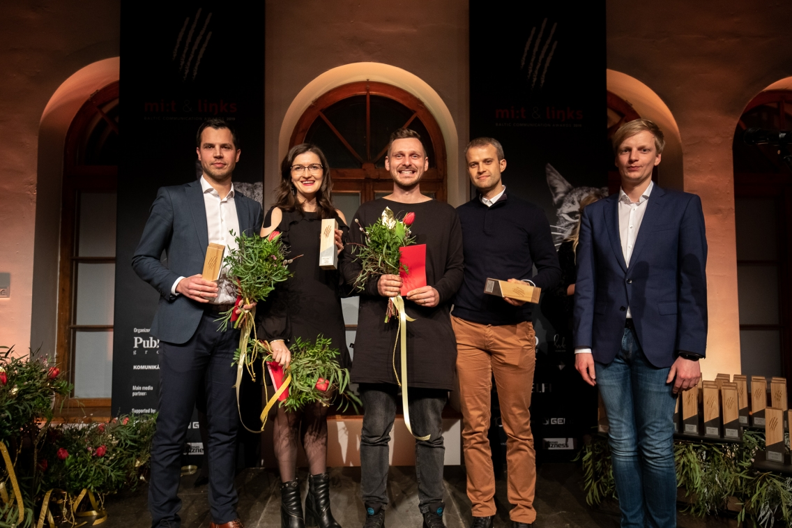 Mi:t&Links. Baltic Communication Awards 2019