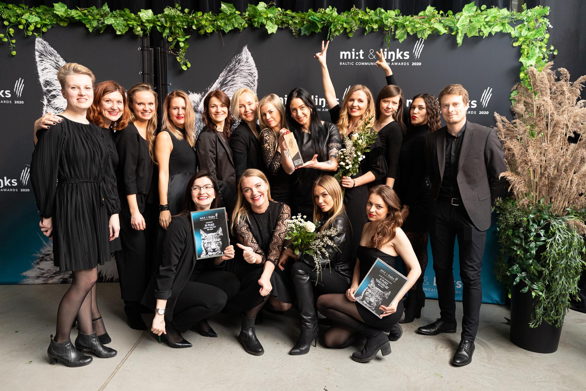 Četras nominācijas un trīs apbalvojumi konkursā Mi:t&Links Baltic Communication Awards 2020