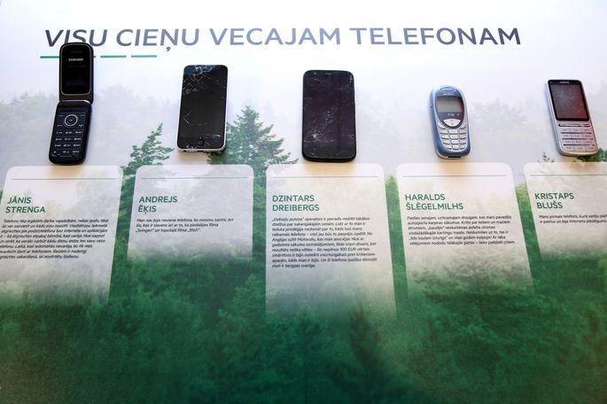 Visu cieņu vecajam telefonam